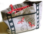 Suede Bag  - MOVIE - OOAK - Reserved