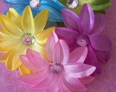 4 Inch Tropical Lily Hair Clips