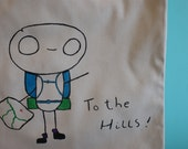 To the Hills Tote Bag - Colour