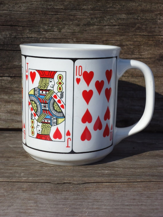 Ace, King, Queen, Jack of Hearts Mug