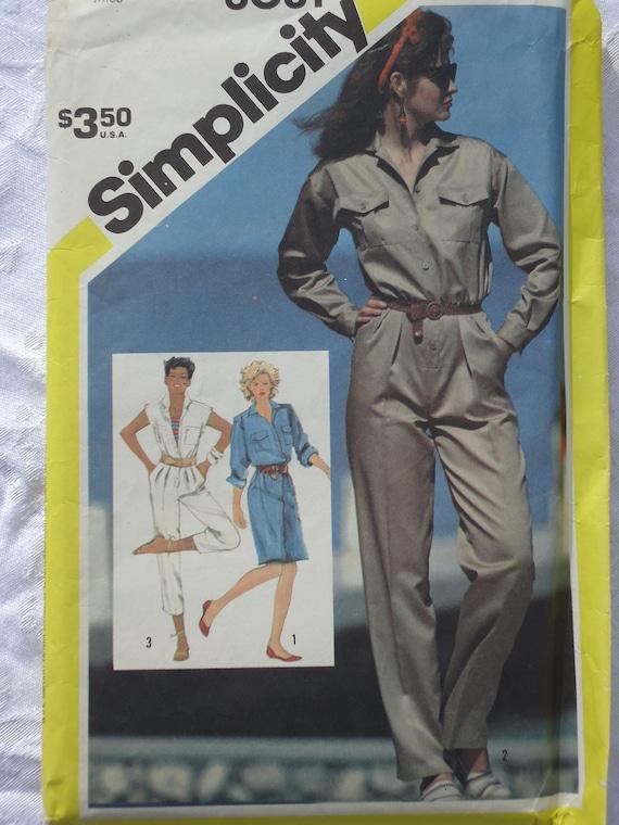 Classic Romper or Shirt Dress Pattern