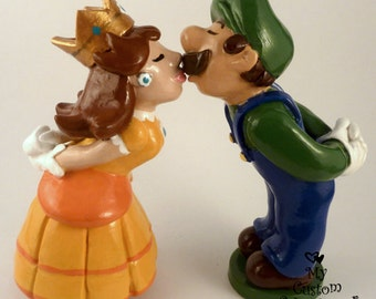 Bride and Groom Wedding Cake Topper Prince and Princess