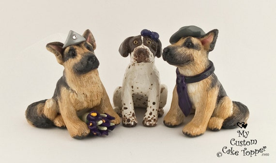 Pet Sculpture Wedding Cake Topper Custom DEPOSIT ONLY