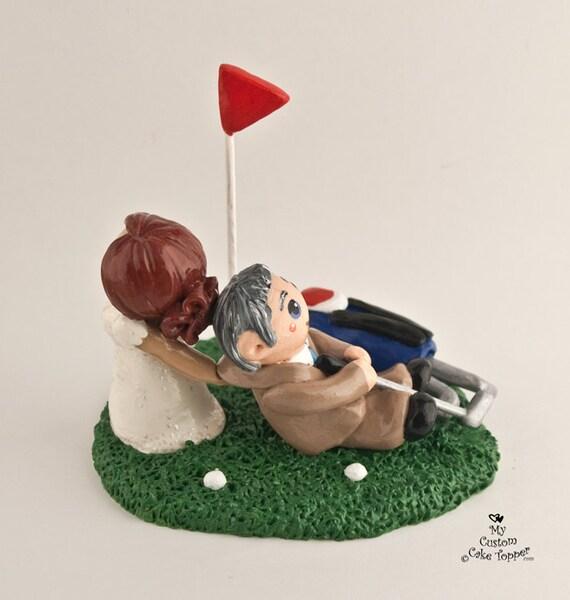 Bride and Groom Wedding Cake Topper Wedding Cake Couple Custom DEPOSIT ONLY