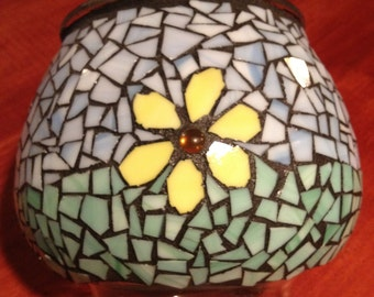Mosaic Flower Bowl