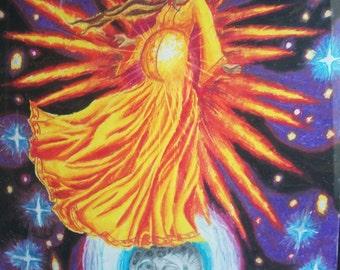 pregnant woman religious painting Revelation