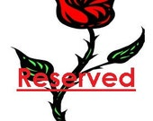 Reserved Listing for Melonie
