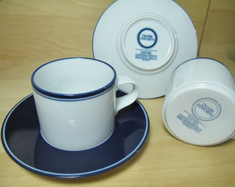 dansk concerto mugs with saucers