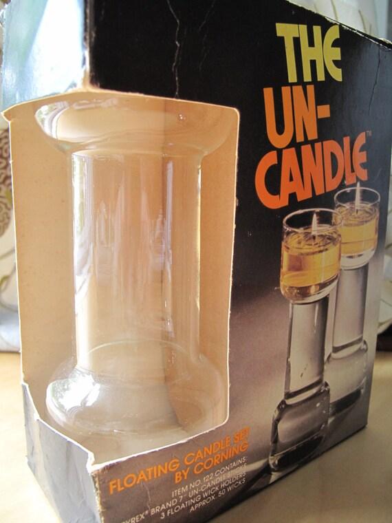 pyrex corning un-candle