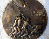 VETERANS - Vintage WWII Commemorative Medal - Iwo Jima 1945 - Society of Medalists