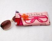 Pretty Pink Sunglasses case