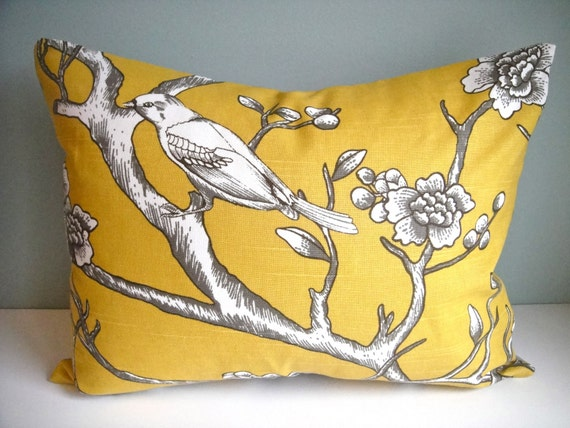 Set Of Two 24x24  Designer Pillow From Robert Allen Dwell Vintage Blossom