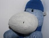 Hamish the Sock Hippo - ready to ship