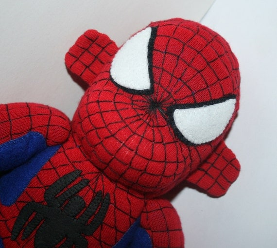 Spiderman the Sock Monkey - Made to Order