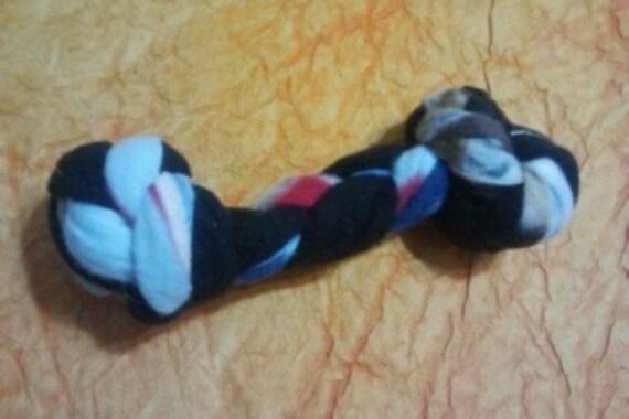 Dog Toy - Fleece Soft Bone Tug Toy