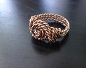 Twisted Metals wire ring