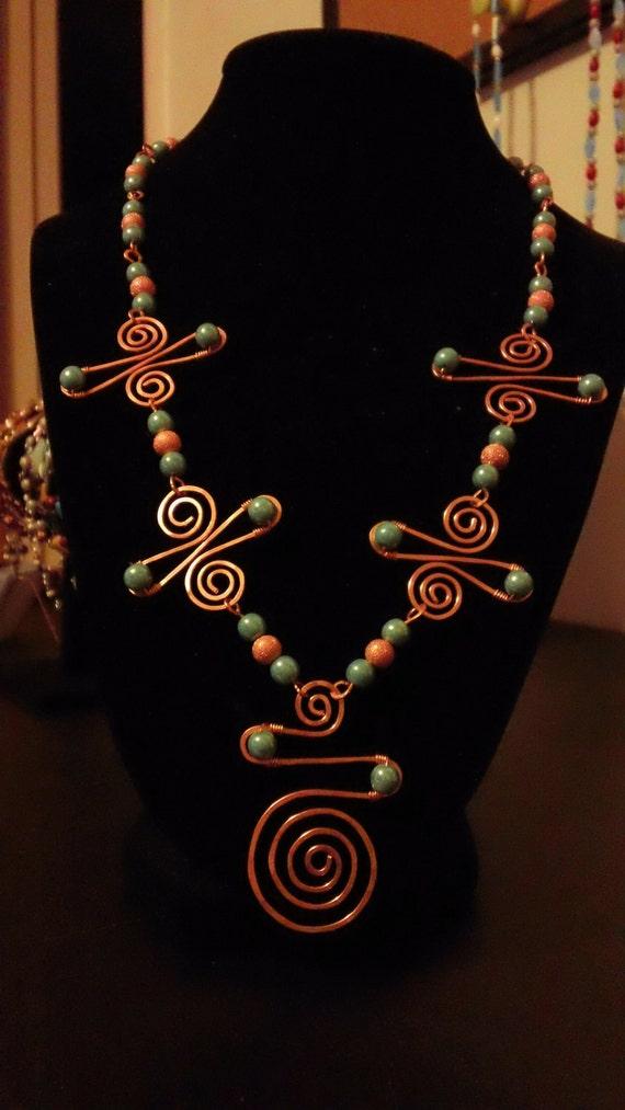SOUTHWEST DESIGN copper necklace