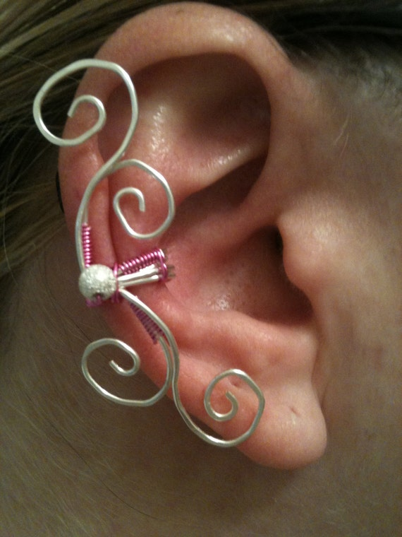 how to make ear cuffs with beads