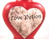 LOVE POTION  Labelled Potion bottle (does not include potion)