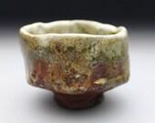 Dry Shino glazed Teabowl