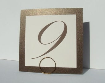Wedding Sign Holders, Mini Table Number Holders, Wedding Decor, 2pcs