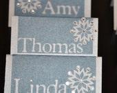 name cards- winter winter wonderland ( set of 25)