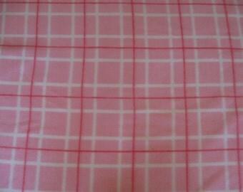 Pink Plaid Custom Saddle Cover