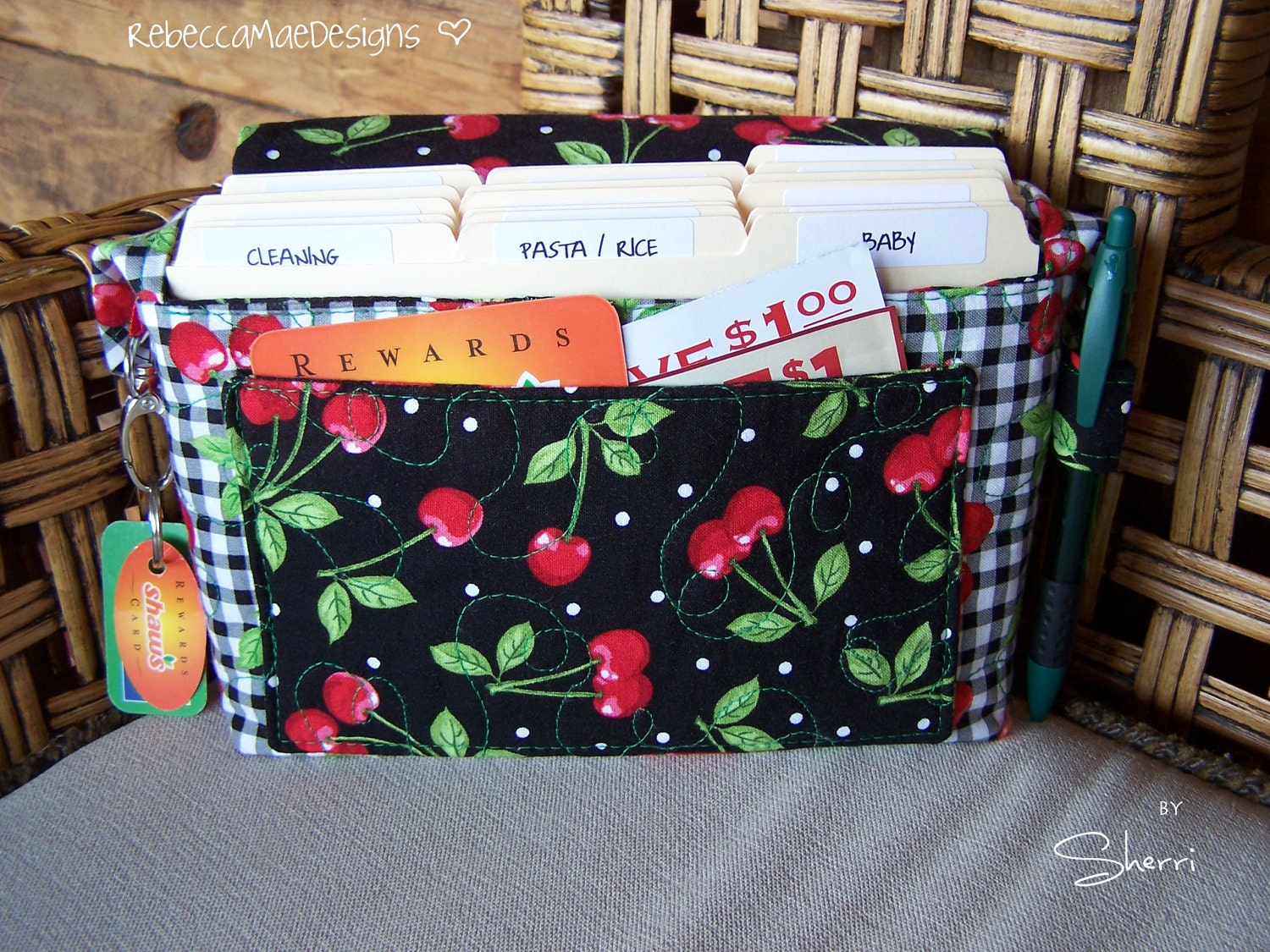 Quilted Coupon Organizer Sewing Pattern Diy By