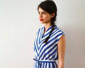 Vintage Striped Sun Dress