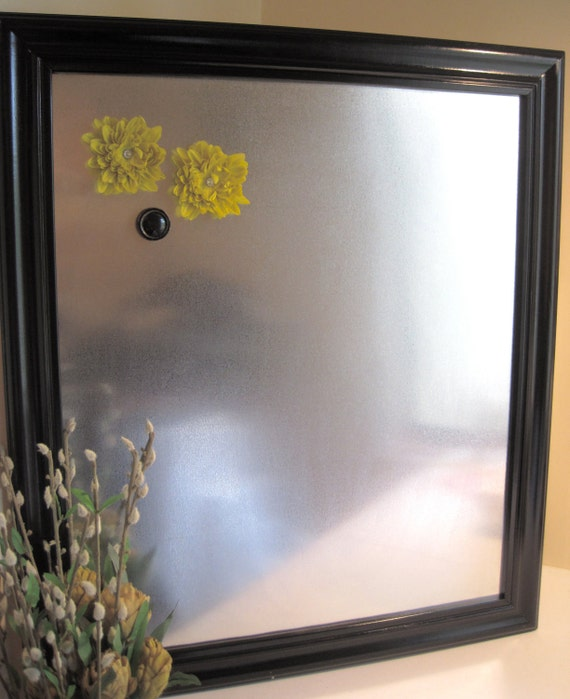 items similar to large stainless steel magnetic board office organizer wedding decor memo. Black Bedroom Furniture Sets. Home Design Ideas