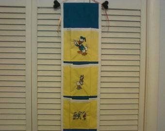 Disney Fish Extender Embroidered Donald, Daisy, Huey, Dewey & Louie