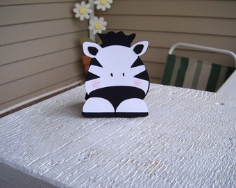 Zebra Favor Box Set of 12