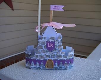 Princess Castle Favor Boxes Set of 10