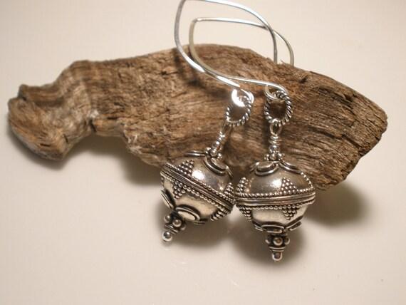 Bali Sterling Silver Dangle Earrings