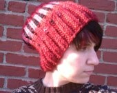 Whatshername Hand Knit Slouchy Beanie Hat