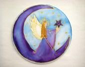 Guardian Angel Mandala Reach for the Stars angel art mandala art spiritual art