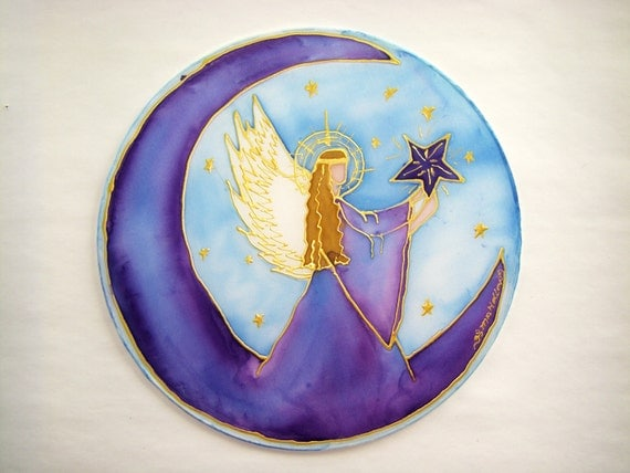 Guardian Angel Mandala Reach for the Stars angel art mandala art spiritual art