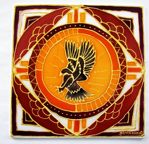 Shaman Art Symbols The Hawk Shamanic Art