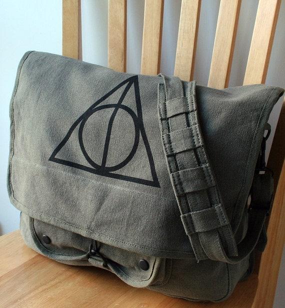 Harry Potter Deathly Hallows Messenger Bag