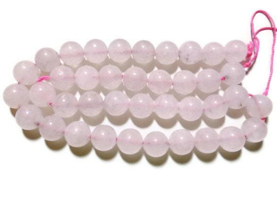 Rose Quartz - 10mm Round - Full Strand - 39 beads