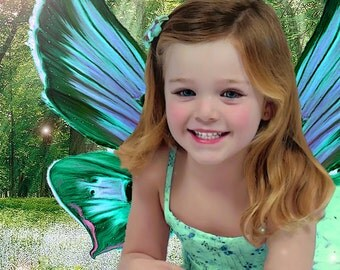 Fairy Child Yourself Personalized Portrait Picture
