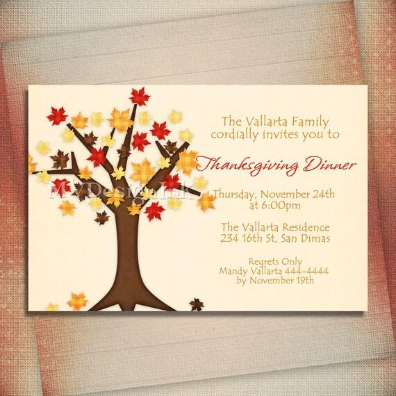 Fall Birthday Invitation, Fall Bridal Shower Invite, Couples Shower Invite-Digital File You Print