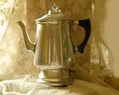 Vintage Universal Electric Coffee Pot Percolator 4 - 6 Cups Original Parts- Made by Landers, Frary & Clark,  Treasury Item