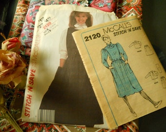 McCall's Stitch 'N Save Blouse, Skirt, and Detachable Bib Top Pattern