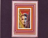Ayn Rand -- World Famous Author -- Fridge Magnet