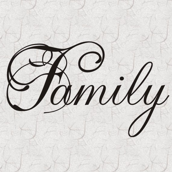 items similar to family vinyl wall lettering decal quote home decor on etsy