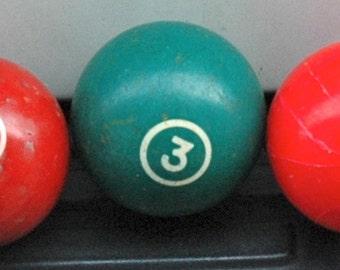 Number Three Pool Ball
