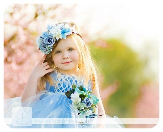 Little Blue Bird Fairy,wedding, photography,birthday, princess dress