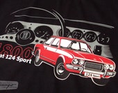 Seat 124 Sport 1800 T-shirt (customizable)