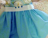 Girls Tinkerbell Party Dress Special Occasion Blue Holiday Twirl Dress in Size 18 -24 mos by Little Miss Prim